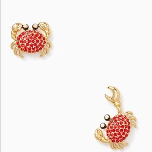 Super cute and playful crab 🦀 Kate Spade earrings